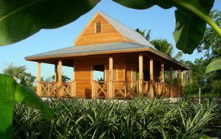 Caribbean garden pavilion.