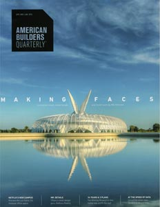 Cover for American Builders Quarterly 2015