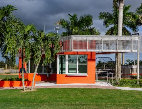 Lely High School Ticket Booth